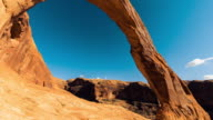 Corona Arch, Moab, Travel and time-lapse through Utah