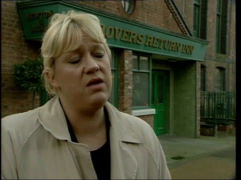 Coronation street actor John Savident stabbed ITN Allison Sinclair interview SOT All really shocked by the attack i/c