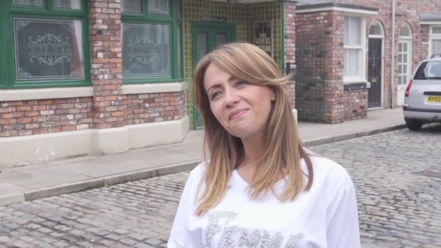 Coronation Street star Samia Longchambon has admitted she had a great time 'undoing Eva' while filming her vicious fountain fight scene with...