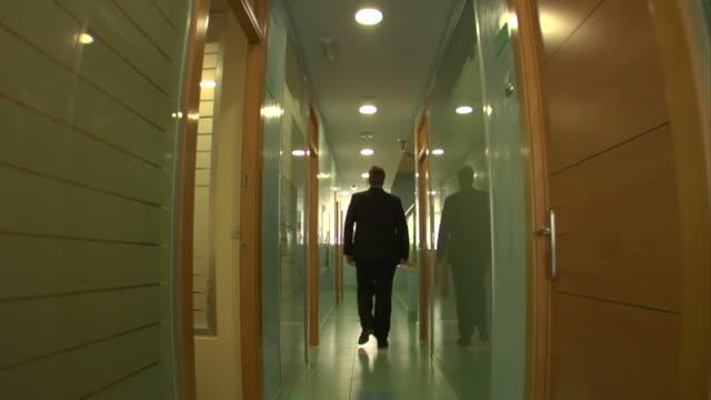Korridor zu Fuß