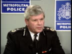 Corruption allegations against officers at Stoke Newington Police Station London CMS BennettPowell i/c SOT CMS Sir John Smith sitting at pkf CMS Sir...