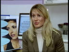 Leslie Ash warning CMS Stephanie Olsen interview about what people should expect if they are thinking of going under the knife SOT They need to...