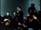 Cosmonaut Yuri Gagarin first man in space Meeting of the selection committee Gagarin is appointed as first astronaut