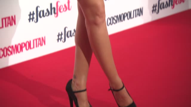 CLEAN Cosmopolitan FashFest Fashion Show and Awards on September 18 2014 in London England