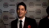 'Cosmopolitan Ultimate Women of the Year Awards 2010' press room interviews Adam Garcia interview SOT On presenting award for 'Ultimate Love Story' /...