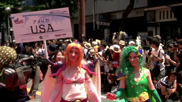 Cosplayers from 26 countries and regions gathered in the central Japanese city of Nagoya on Saturday August 1 dressing up like animation characters...