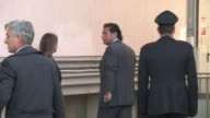 Costa Concordia captain Francesco Schettino arrived Friday morning at another pre trial hearing in Grosseto central Italy where he is defending his...
