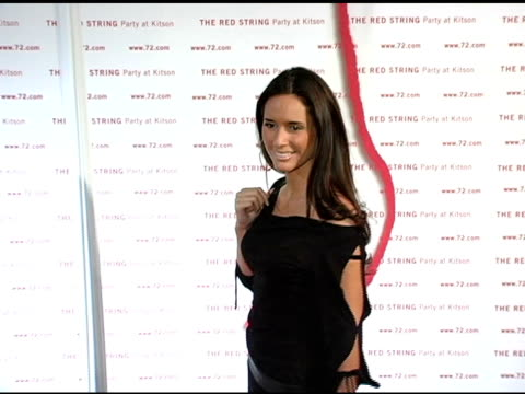 Cote Maria at the Kitson and Kabbalah Celebration of 'The Red String Book' at Kitson in Los Angeles California on October 26 2004