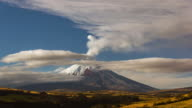 Cotopaxi Volcano, Ecuador erupting on the  8th of October 2015