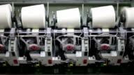 Cotton thread machine