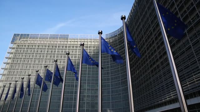 EU Council Exterior viewed on 20th October 2016