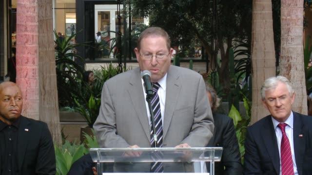 SPEECH Councilmember Paul Koretz at Westfield Century City Reopening Celebration in Los Angeles CA