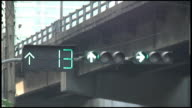 (HD1080i) Countdown Clock on Green and Orange, Yellow Traffic Lights