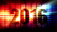 Countdown to 2016 disco background