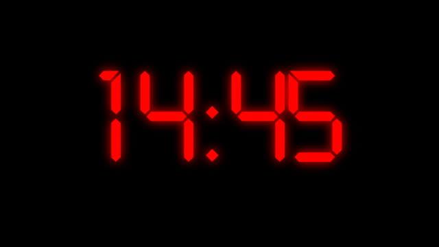 Countdown warning