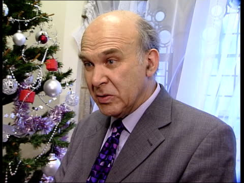 Counterfeit goods/ Harry Potter pirate video London Vince Cable MP interview SOT this bill is important because it protects consumers from tacky and...