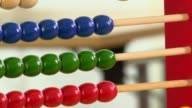 Counting party votes on a abacus