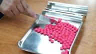 Conteggio delle compresse di farmaco