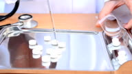 Counting tablets medicine