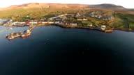 Contea di Kerry Irlanda Veduta aerea