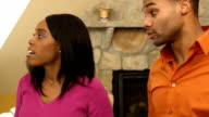 Couple Argues in Home - CU ver b