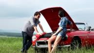 Couple Car Breakdown