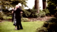 Couple dancing in celebration