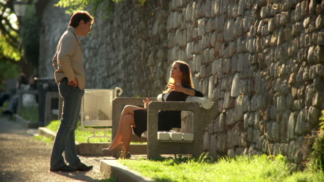 HD: Couple Flirting