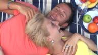 HD: Couple Having A Picnic