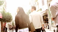 Couple having fun in Istanbul