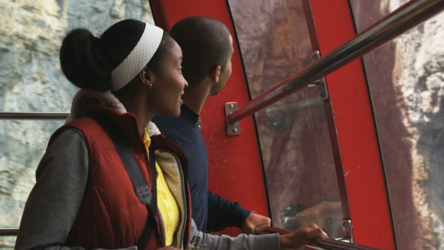 couple in a gondola
