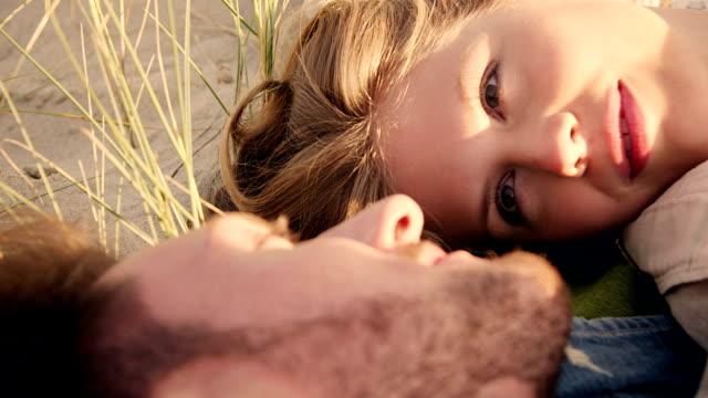 Couple in dunes