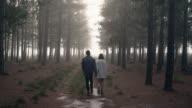 Paar im Forrest