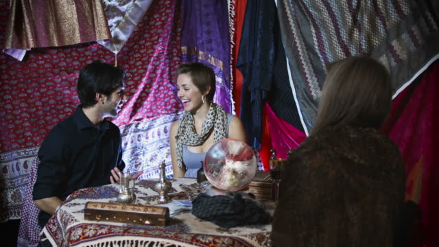 Couple is Upset by Fortuneteller