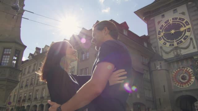 Couple take a romantic break in Europe