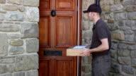 Kurier Lieferung nach Hause Paket In house-Versand Logistik Deliveryman