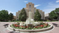 MS Courthouse and fountain / Boulder, Colorado, United States
