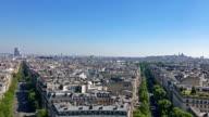 Vue aérienne de Montmartre et du Palais de justice