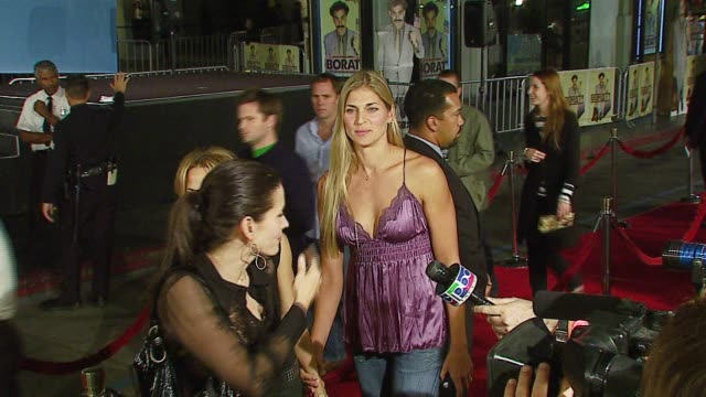Courtney Cox Arquette Sheryl Crow and Gabrielle Reece at the 'Borat Cultural Learnings of America for Make Benefit Glorious Nation of Kazakhstan'...