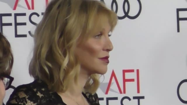 Courtney Love outside The Disaster Artist at TCL Chinese Theatre in Hollywood in Celebrity Sightings in Los Angeles