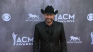 Craig Campbell at the 49th Annual Academy of Country Music Awards Arrivals at MGM Grand Garden Arena on April 06 2014 in Las Vegas Nevada