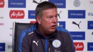 Craig Shakespeare reflects on a 21 loss to Chelsea He says he thought Leicester showed a lot of character to come from 20 down to score their first...