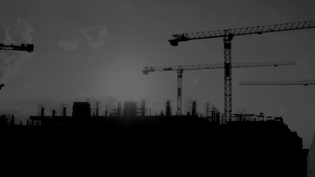 Crane Konstruktion.