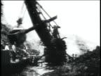 MONTAGE crane moving debris / Republic of Panama