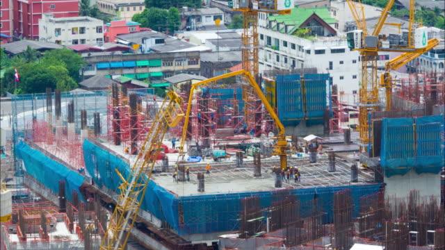Cranes Construction site