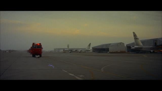 WS Crash truck down runway