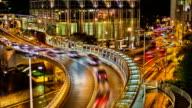 Crazy Verkehr und goldene Stadt