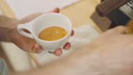Creating A Beautiful Latte