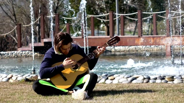 Creating music on a park