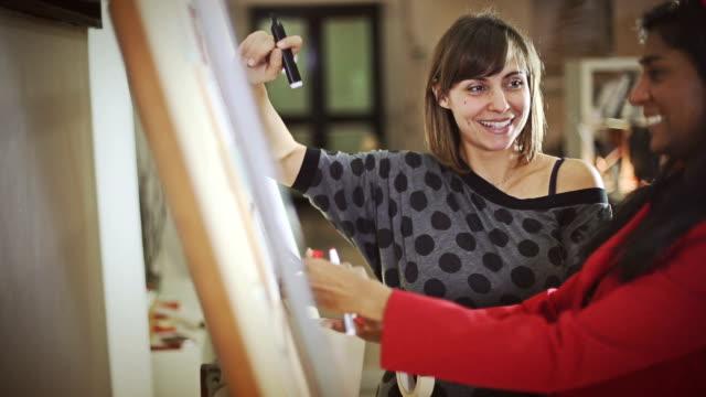 Creative architect women at work